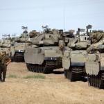 إسرائيل تحشد قوات برية كبيرة عند حدود قطاع غزة ونتنياهو يتوعد