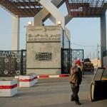 مصر تفتح معبر رفح على الحدود مع غزة